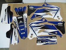 FLU  BLUE/WHITE  PTS  GRAPHICS YAMAHA YZ250F YZ450F YZF250 YZF 2006 2007