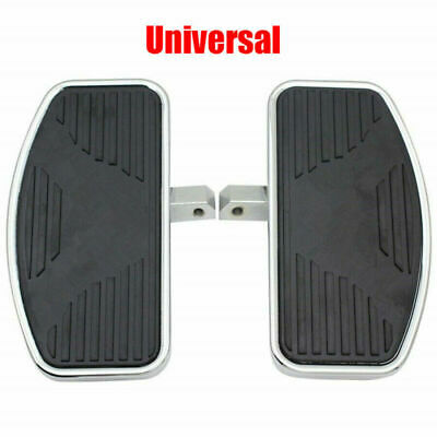 2PCS Adjusted Motorcycles Left+Right Rider Floorboards Foot Boards Pedal Kit