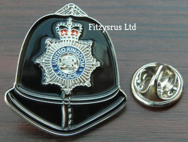 Police Hat Lapel Cap Tie Pin Badge Brooch Copper Cop Bobby UK Souvenir Gift