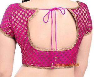 Readymade Saree Blouse,Stitched Pink Blouse,Designer sari Blouse,Crop Top