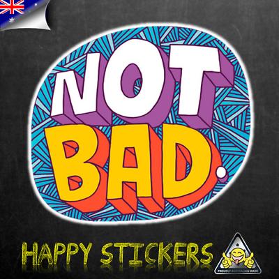 "/""HEY!/"" Luggage Car Skateboard Laptop Scooter Phone Vinyl Decal Sticker"