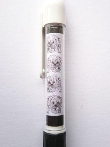 Affenpinscher Retractable Ball Pen by Curiosity Crafts