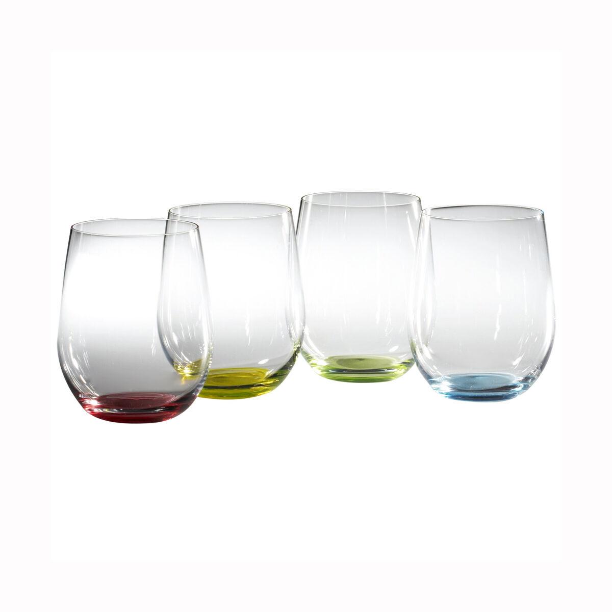 Riedel O Happy  O  Wine Tumblers Glasses - Set of 4