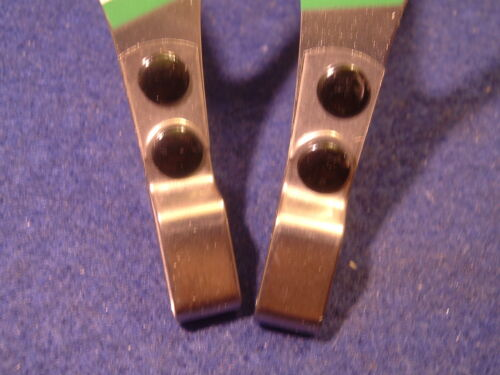 ALE Torino INOX Stainless Steel Road Toe Clips NEW NOS Vintage NIB!! Small