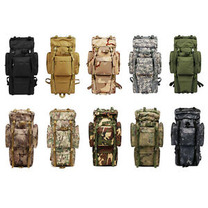 80L-Outdoor-Military-Rucksacks-Tactical-Bag-Camping-Hiking-Trekking-Backpack