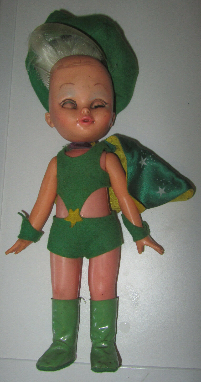 Maga Maghella RARA VARIANTE verde Franca Raffaella autorà 30cm  SPESE GRATIS  presa di fabbrica