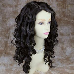 Wiwigs-Lovely-Long-Curly-Dark-Brown-Versatile-Skin-Top-Ladies-Wig