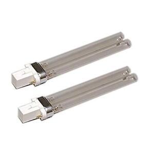 2pcs 9W 9 watt UV Light Bulbs for Tetra Pond Filter
