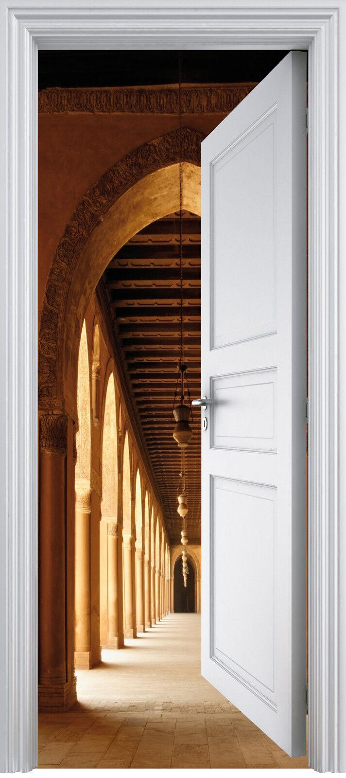 Aufkleber Tür Schein Auge Gewölbe 90x200 cm Ref 328