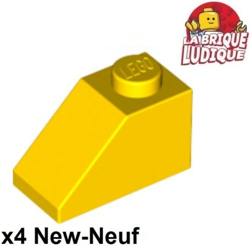 Lego 4x slope brique pente inclinée 45 2x1 jaune//yellow 3040 NEUF