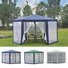 Hexagonal Patio Gazebo Outdoor Canopy Party Tent Activity Event w/ Mosquito Net