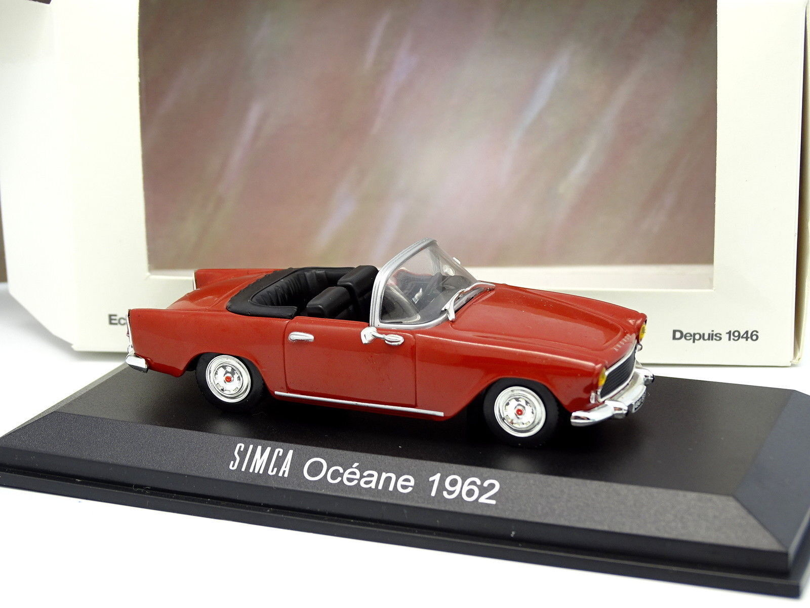 Norev 1 43 - Simca Oceane 1962 red