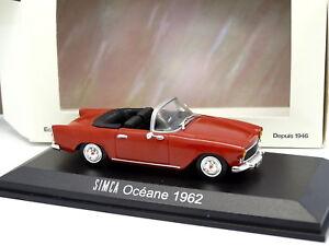 Norev-1-43-Simca-Oceane-1962-Rouge