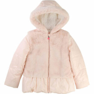 marktfähig Farben und auffällig Outlet zu verkaufen Details zu BILLIEBLUSH Mädchen Steppjacke Kapuze U16151 Kinder Winterjacke  Anorak rose NEU