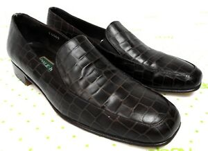 6865590990e Cole Haan women s size 8 B brown leather loafers slip on dress shoes ...