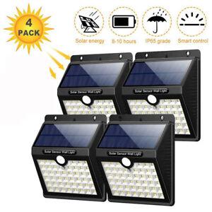 Energie-Solaire-PIR-Capteur-Mouvement-Lumiere-DEL-Exterieur-Jardin-Murale-Lampe-Impermeable-Yard