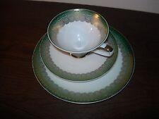 MITTERTEICH BAVARIA VINTAGE PORCELAIN SET TEA CUP SAUCER DESSERT PLATE STYLISH