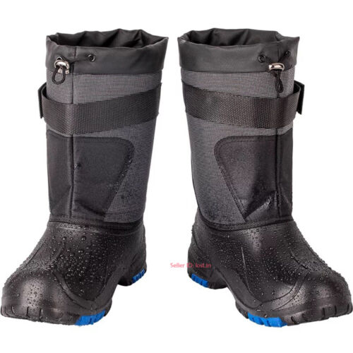 Mens Winter Warm Snow Boots Non-slip Outdoor Waterproof Fishing Boots Work Shoes