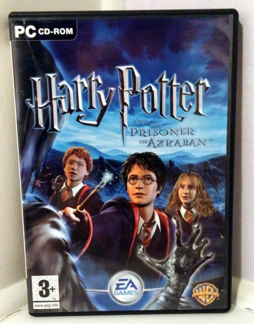 Harry Potter and the Prisoner of Azkaban (PC: Windows, 2004) with Manual