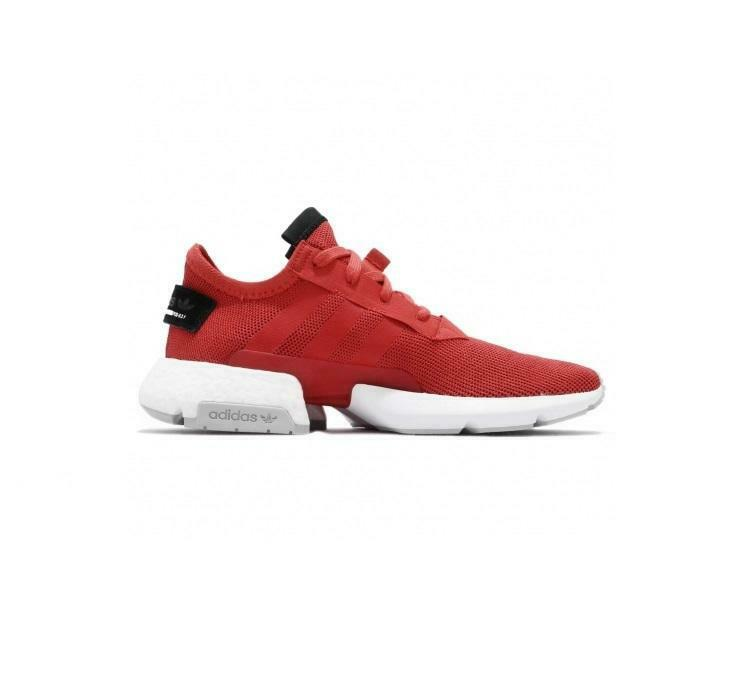 Mens ADIDAS POD-S3.1 Tactile rot Trainers D97202