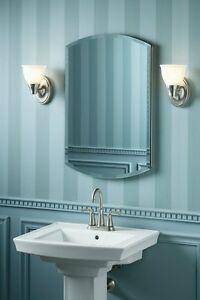 bathroom mirror medicine chest cabinet mirrored large storage elegant