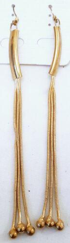 Accesorio Indio colgantes pendientes señoras de moda joyería elegante Largo Gota