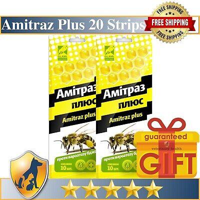 10 Strips Amitraz Plus Strips Beekeeping Prevention of Varroatosis Varroa