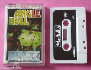 MSX-Mastertronic-ANGLE-BALL-64k-1987-NEW