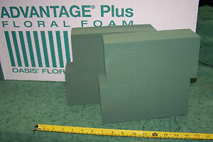 Oasis Advantage Foam Bricks Wet Use Floral Foam Flower Arranging Wedding Event