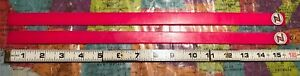 VINTAGE Z FLEX 1980/'S OLDSCHOOL STICK ON SKATEBOARD RAILS PINK