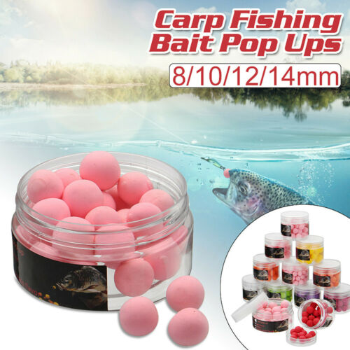 3 Box Bobing 8-14mm Float Course Carp Fishing Lures PopUp Imitation Bait PVA