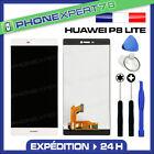 VITRE TACTILE + ECRAN LCD ORIGINAL HUAWEI P8 LITE BLANC + OUTILS