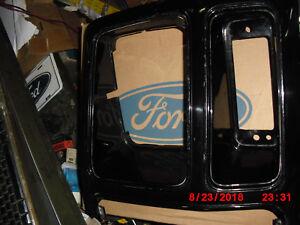 1980 1986 F150 F350 Bronco Gloss Black Nos Driver S Headlamp Door E2tz 13064 D Ebay