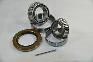 (Qty 6) K3-100 5,200-7k lb.Trailer Kit 25580/20 15123/15245 Bearings 10-36 Seal