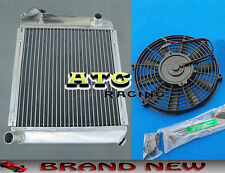 50mm Aluminum Radiator & Fan for 1959-1997 AUSTIN ROVER MINI COOPER MT 59 60 61
