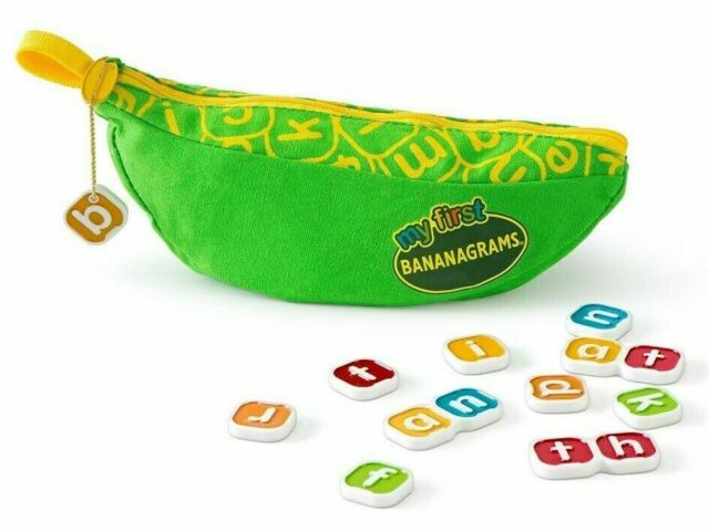My First Bananagrams Tile Word Game - Brand New & Sealed - English Version