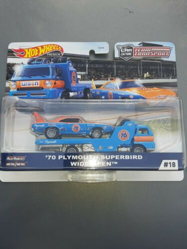 2020 Hot Wheels Car Culture Team Transports /'70 Plymouth Superbird and Wide Open