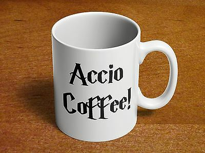 ACCIO COFFEE! HP Coffee Spell Harry Potter Fan 11oz Coffee Mug Harry Potter Gift