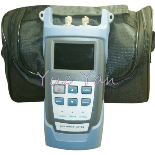 BPON//EPON//GPON PON Fiber Optical Power Meter CCTV FTTH ONT 1310//1490//1550nm