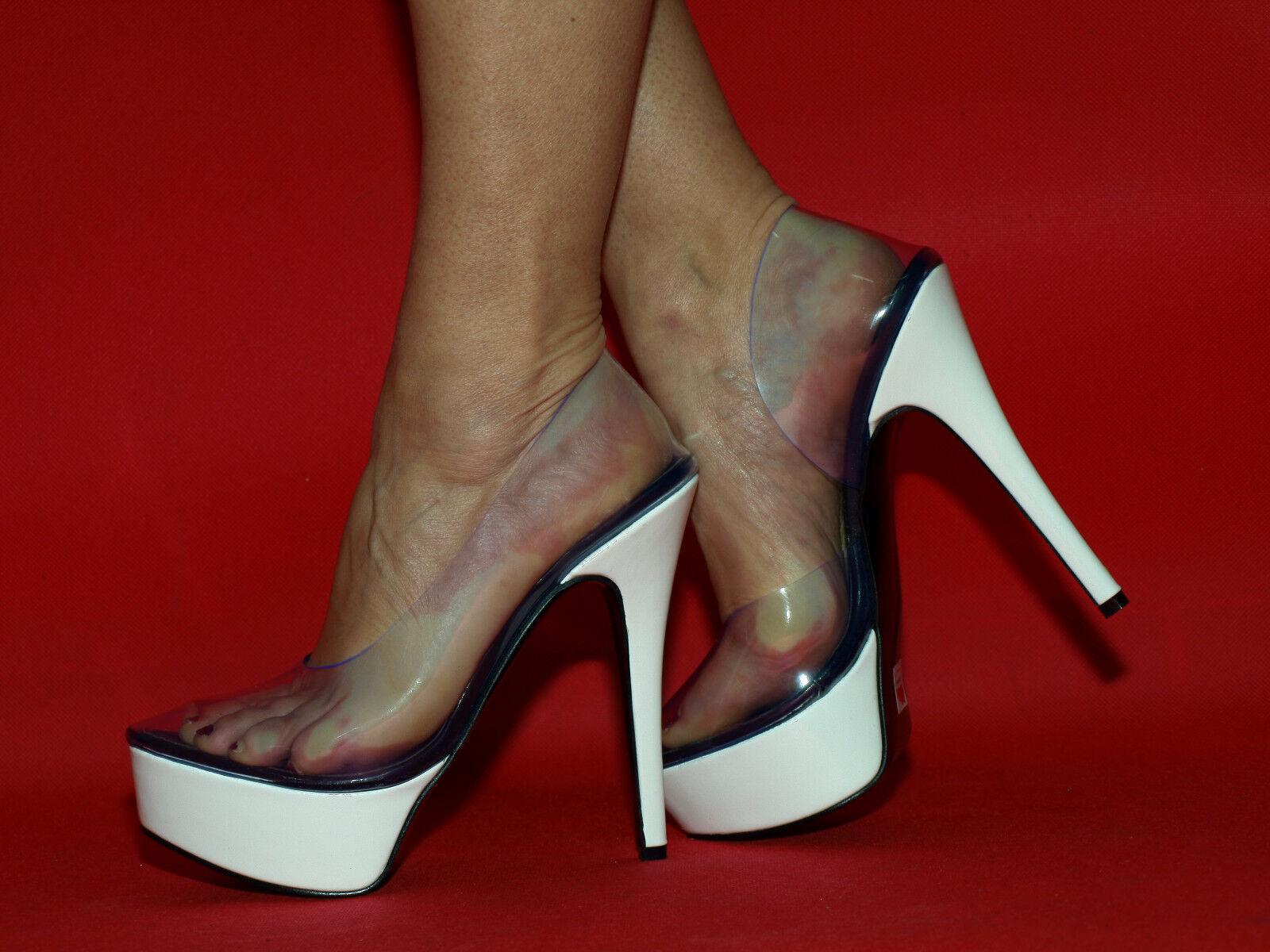 Pumps  41 37 38 39 40 41  42 43 44 45 46 47 Bolingier-Poland heels 15cm FS c0b095