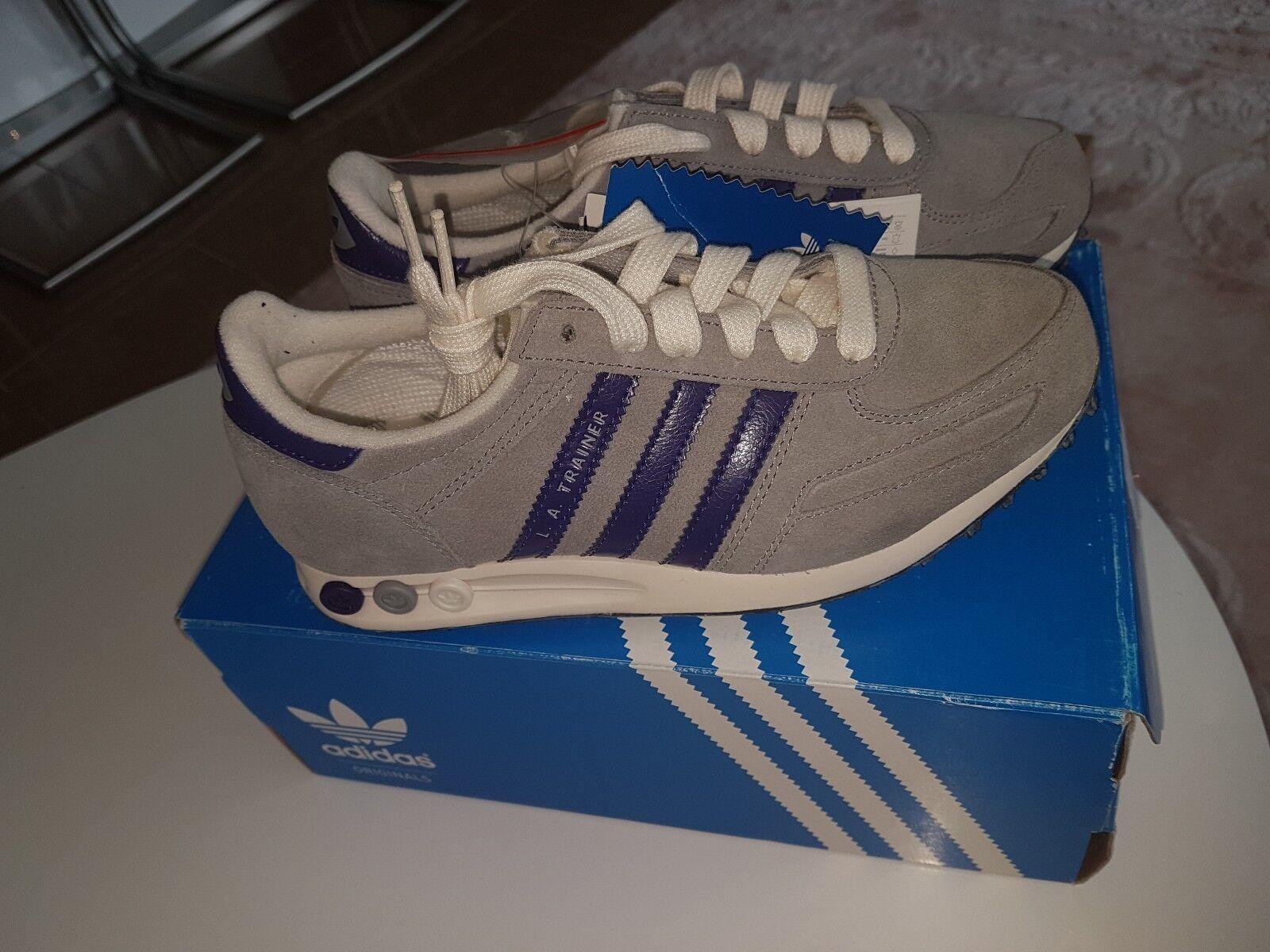 Adidas la Trainer W 36  Vintage zx flux grau/lila Damenschuhe Gr 36   Damenschuhe grau/lila 3b0fc8