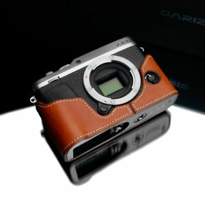 Details about Gariz XS-CHXE3CM Genuine Leather Half Case for Fuji XE3 Camel  Brown