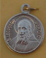 Medaille Amulett - Pilgermedaille - St.Leopoldo Mandic / Maria (AO26)