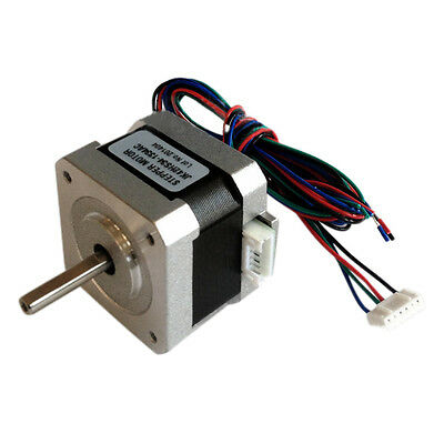 NEMA17 1.8 Degree 42mm 2 Phase Stepper Motor For 3D Printer or CNC 0.22NM NEW