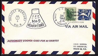 Motive Thomason 16.05.63 Elegantes Und Robustes Paket Briefmarken Obligatorisch Space Raumfahrt Mercury 9 Bergung Nbs Uss John W