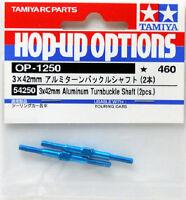 Tamiya 54250 (OP1250) 3x42mm Aluminum Turnbuckle Shaft (2pcs.)