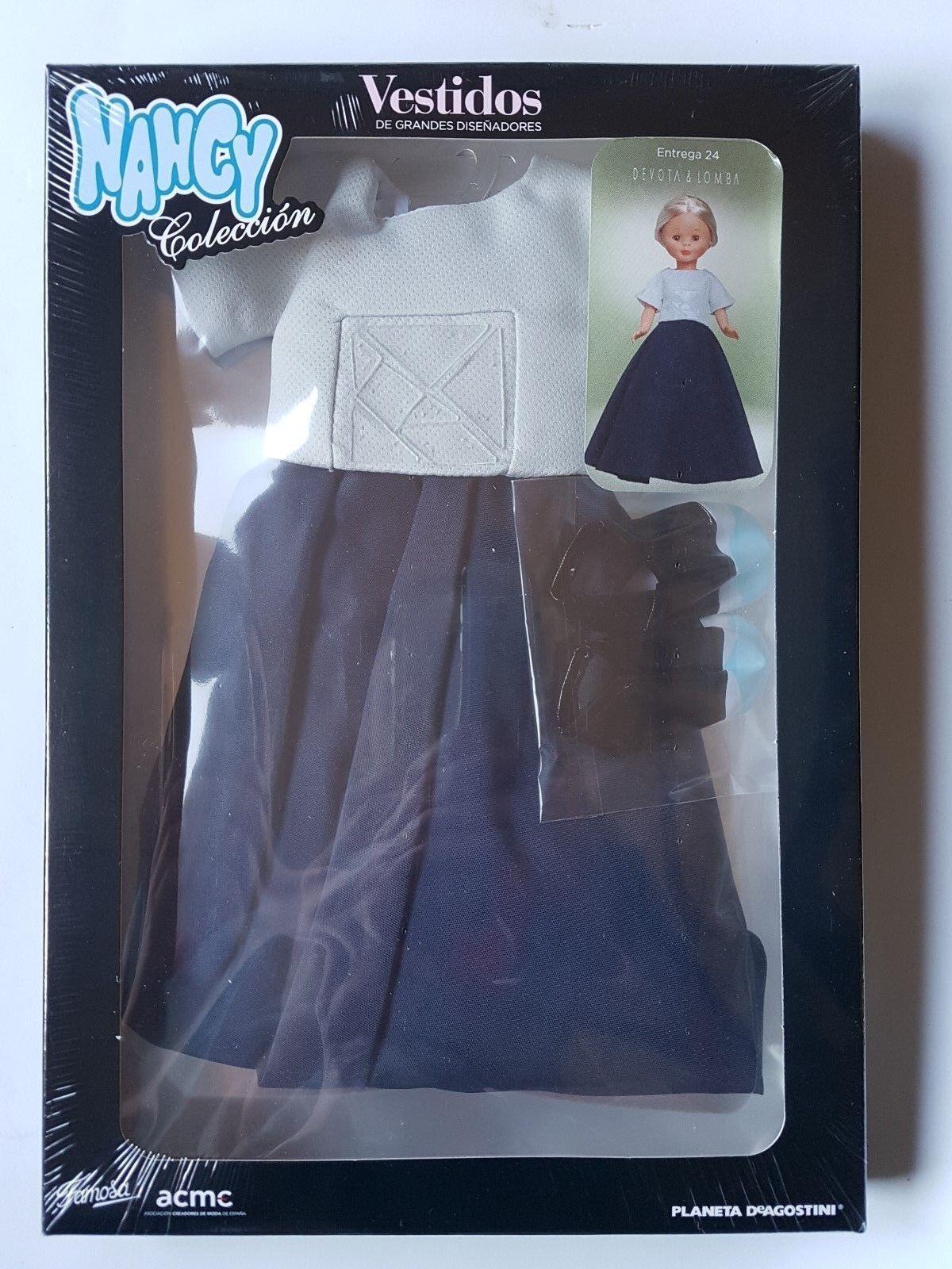 Muñeca Nancy Coleccion Coleccion Coleccion Vestidos Grandes Diseñadores Vestido Nº 24 Devota & Lomba f8df83