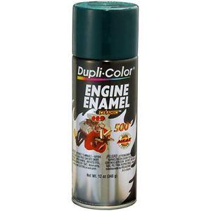 duplicolor de engine enamel paint racing green hunter  oz  ebay