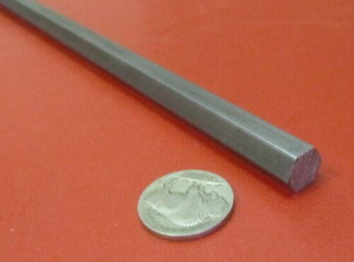 2 Unit 1018 Carbon Steel Hex Rod 10 mm Hex  x 3 Foot Length