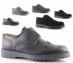 Caricamento dell immagine in corso scarpe-francesine-uomo -made-in-italy-vera-pelle- f883b41072f